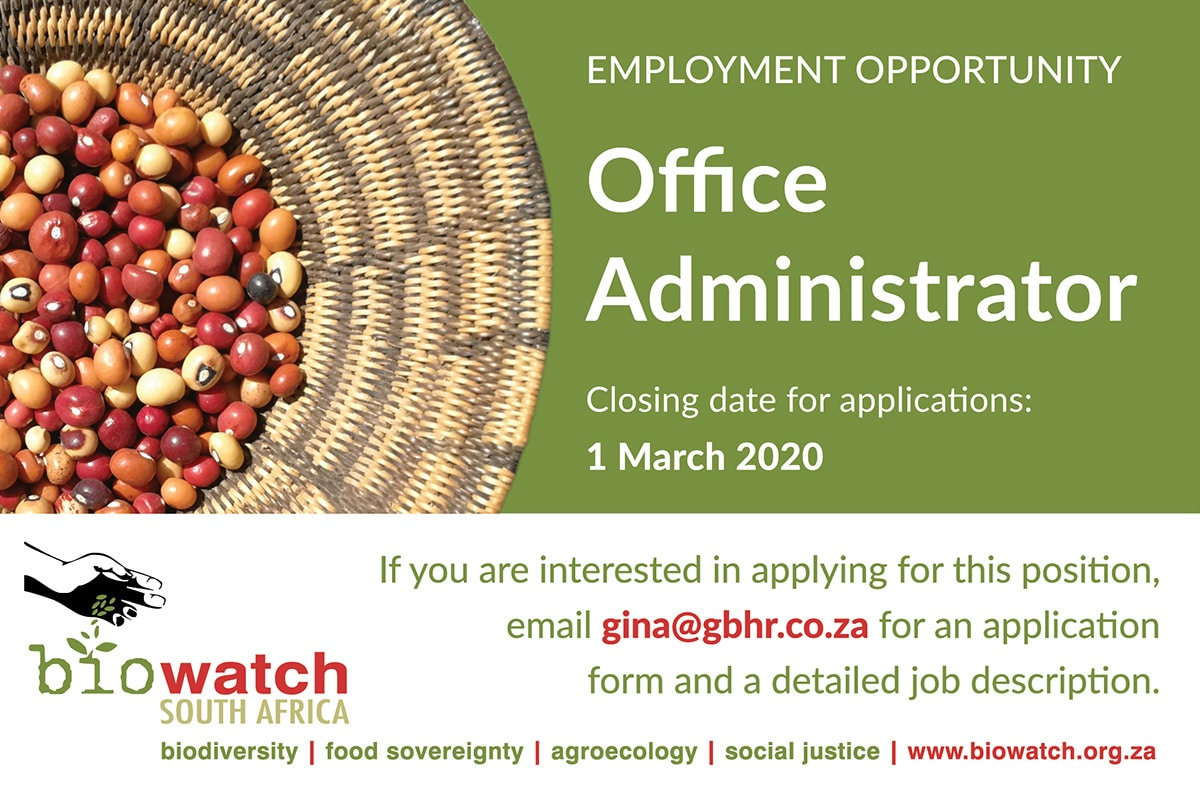 Biowatch_Vacancy_Office-Administrator_022020